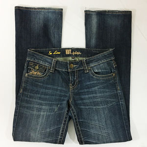 P20 Kut from Kloth So Low Boot Denim Jeans Sz 4